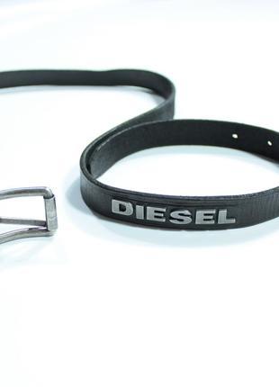 Diesel skinny smart кожаный ремень женский 95 см