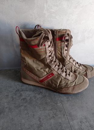 Высокие кеды кроссовки esprat спортивные ботинки
