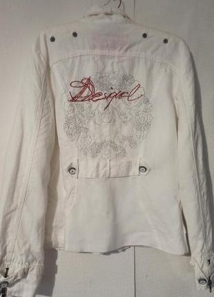 Легкая куртка из рами desigual