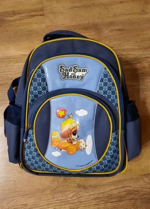 Школьный ортопедический портфель мальчику 1-4кл.