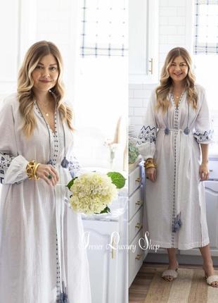 Скидка невероятно красивое платье вышиванка h&m s-m-l новая коллекция