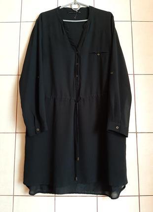 Базовое шифоновое платье рубашка от seppala woman