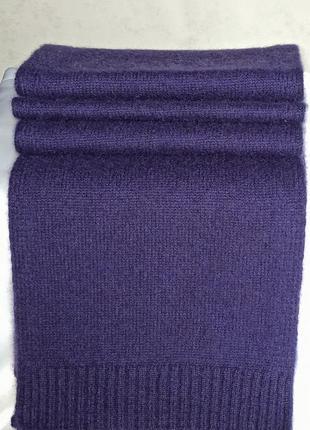 Бoльшой кашемировый шарф 100% кашемир john lewis