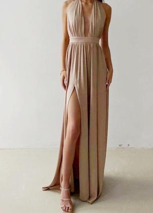 Шикарне плаття 💘 беж,чорне 🌈 якість 👍