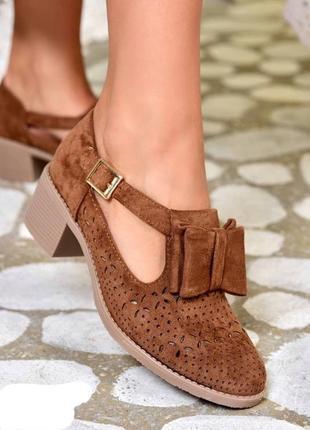 Стильные летние туфли