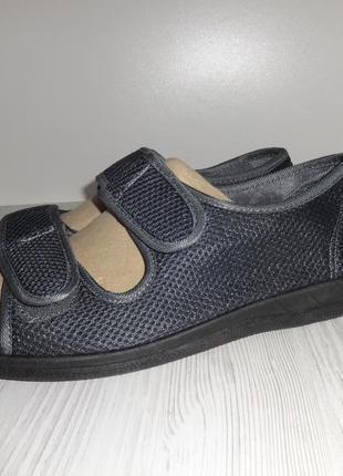 Универсальная модель для широкой и проболемной стопы сандалии.тапочки townland ®by kaufland