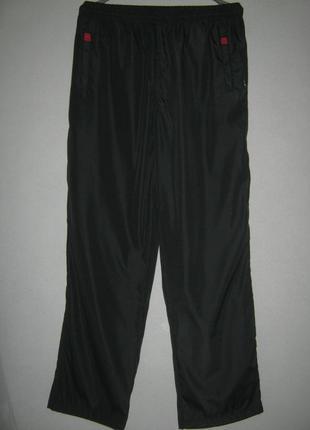 Dlv штаны черные спортивные на подкладке 70% котон