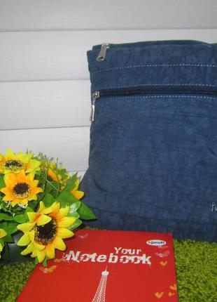 Фирменная сумка почтальон английского бренда fat face