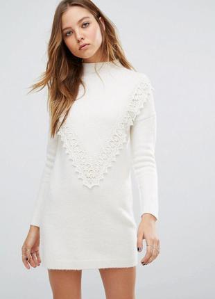 Красивое платье джемпер  vero moda