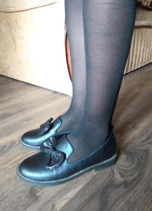 Шкіряні туфлі (лофери)
