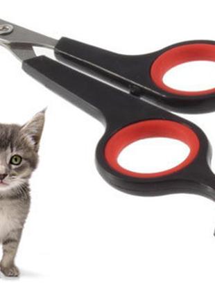 Кусачки-когтерез для животных. клиперы. ножницы для когтей размер s