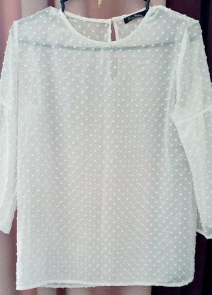 Ніжна молочна блуза kira plastinina