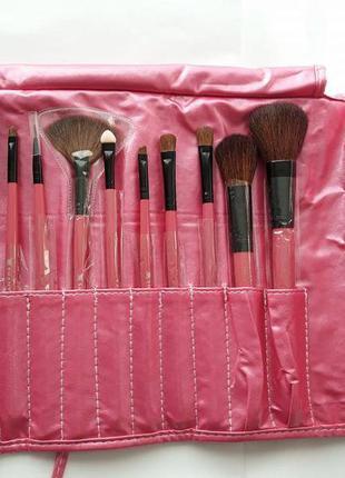 Набор кистей для макияжа shany professional 12 - pink