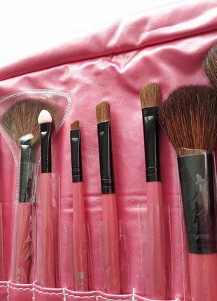 Набор кистей для макияжа shany professional 12 - pink5