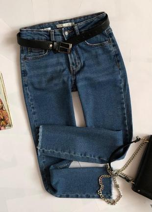 Обалденные джинсы мом bershka (slim)