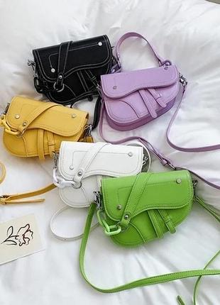 Удобная женская повседневная сумочка из качественной эко кожи, достаточно вместительная и практичная 🔥