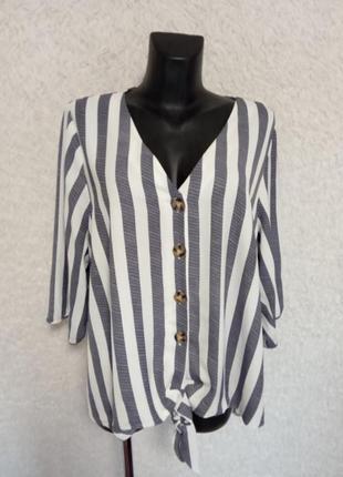 Стильная рубашка блуза 24р