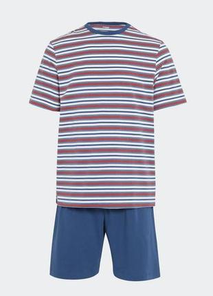 Размер xl пижама из хлопка джерси из англии