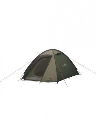 Намет палатка туристическая  2-місний easy camp meteor 200 темно-зеленый