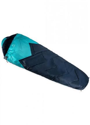 Спальный мешок туристический  elbrus rohito 220x80см cиній