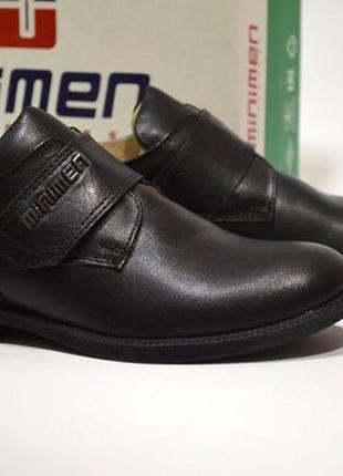 Туфли для мальчика minimen арт.1369-14, черный