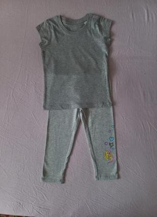 Набор футболка и лосины my little pony 4 года(104 см)