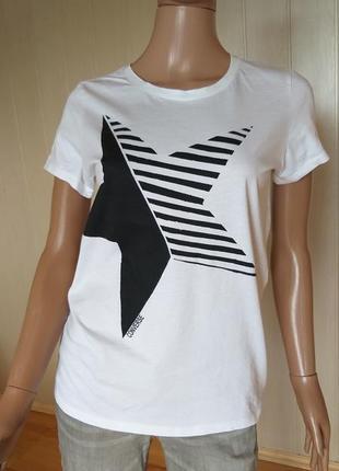 Хлопковая футболка converse размер м
