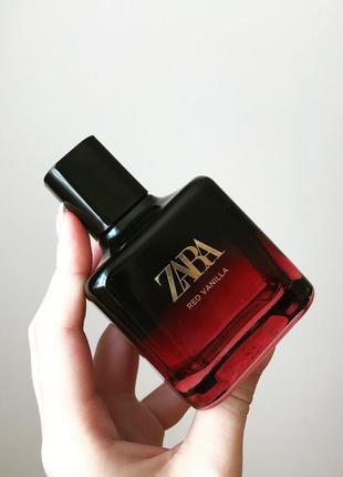 Red vanilla zara 100 мл духи туалетна туалетная вода