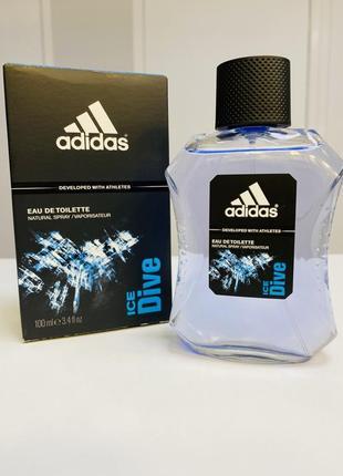 Туалетная вода adidas - ice dive/100 мл.