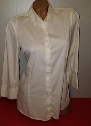 Женская коттоновая рубашка бренд mexx