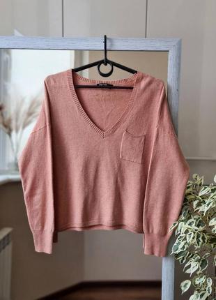 Трендовый шерстяной свитер топ с кашемиром шерсть премиум бренда marc aurel 🌺