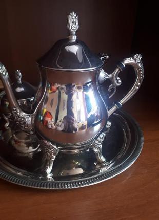 Серебряный чайный набор h.samuel