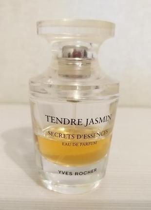 Парфюмерная вода tendre jasmin yves rocher