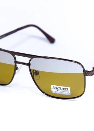 Чоловічі окуляри для водіїв