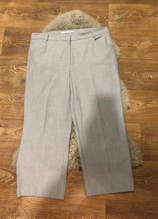 Шикарные штаны брюки кюлоты raffaello rossi