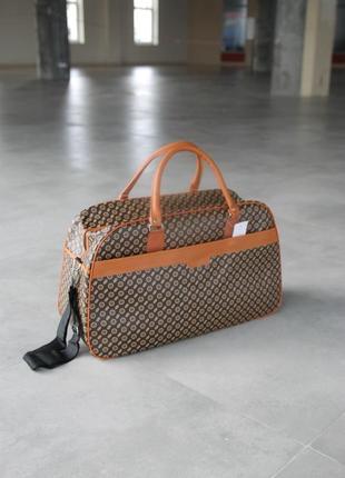 Дорожня сумка дорожная сумка эко кожа