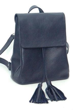 Небольшой женский кожаный рюкзак