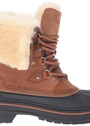 Сапоги crocs womens allcast ii luxe boot оригинал w6-11