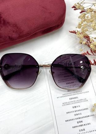 Нереальные модные женские солнцезащитные очки 💜