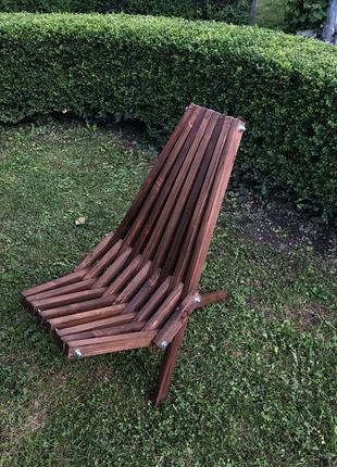 Садове крісло, дерев'яне крісло, шезлонг, крісло на терасу