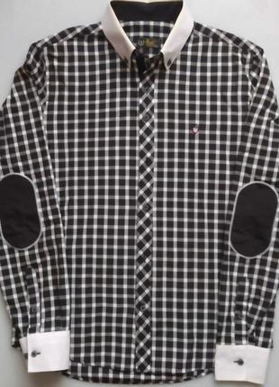 Рубашка с длинным рукавом, размер 46/48, м.