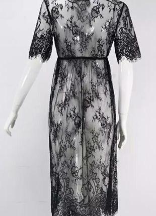 Платье сетка пинюар подарок невесте