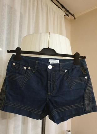 Шорты джинсовые versace collection