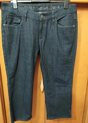 Батал большой размер шикарные темные стильные джинсовые бриджи