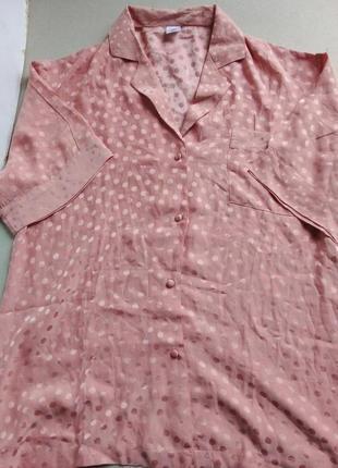 Пижамная кофта из натурального шелка