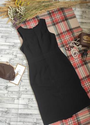 Платье футляр вечернее чёрное размер m atmosphere