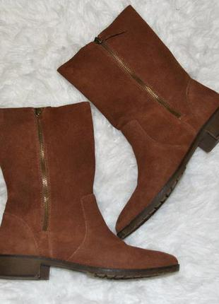 Замшевые ботинки bershka