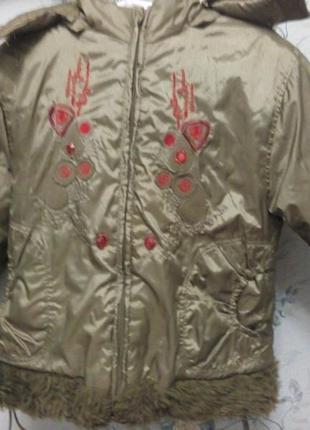 Зимняя куртка для принцессы