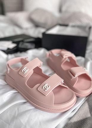 Sandals pink 🍏 стильные женские сандалии