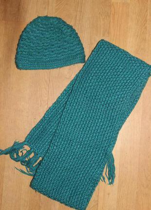 Комплект шапка шарф  onyx